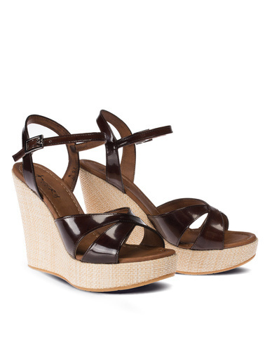 Deery Sandalet Bordo